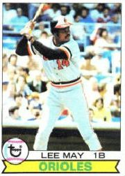 1979 Topps Baseball Cards      010      Lee May