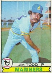 1979 Topps Baseball Cards      103     Jim Todd