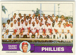 1979 Topps Baseball Cards      112     Philadelphia Phillies CL/Danny Ozark