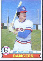 1979 Topps Baseball Cards      120     Jim Sundberg