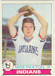 1979 Topps Baseball Cards      122     Mike Paxton