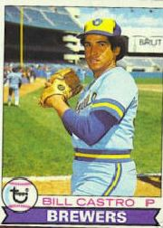 1979 Topps Baseball Cards      133     Bill Castro
