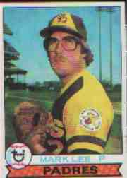 1979 Topps Baseball Cards      138     Mark Lee RC