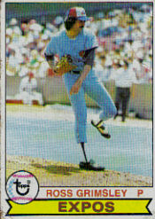 1979 Topps Baseball Cards      015      Ross Grimsley