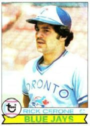 1979 Topps Baseball Cards      152     Rick Cerone