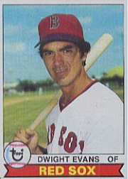 1979 Topps Baseball Cards      155     Dwight Evans