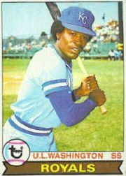 1979 Topps Baseball Cards      157     U.L. Washington UER