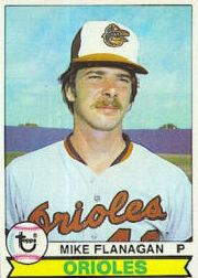 1979 Topps Baseball Cards      160     Mike Flanagan