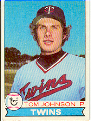 1979 Topps Baseball Cards      162     Tom Johnson