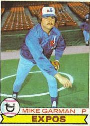 1979 Topps Baseball Cards      181     Mike Garman