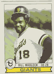 1979 Topps Baseball Cards      195     Bill Madlock