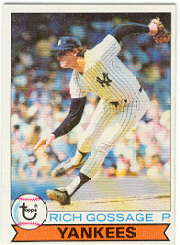1979 Topps Baseball Cards      225     Goose Gossage