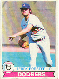 1979 Topps Baseball Cards      023      Terry Forster