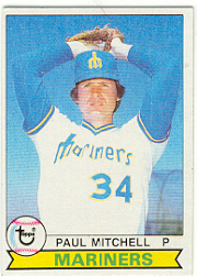 1979 Topps Baseball Cards      233     Paul Mitchell