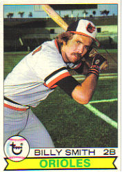 1979 Topps Baseball Cards      237     Billy Smith