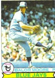 1979 Topps Baseball Cards      238     Balor Moore