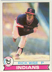 1979 Topps Baseball Cards      253     Rick Wise