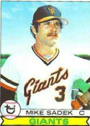 1979 Topps Baseball Cards      256     Mike Sadek