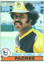 1979 Topps Baseball Cards      263     Oscar Gamble
