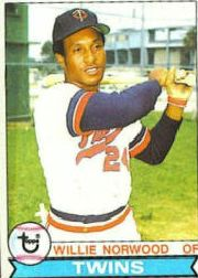 1979 Topps Baseball Cards      274     Willie Norwood