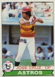 1979 Topps Baseball Cards      289     Jose Cruz