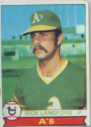 1979 Topps Baseball Cards      029      Rick Langford