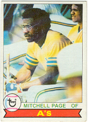 1979 Topps Baseball Cards      295     Mitchell Page