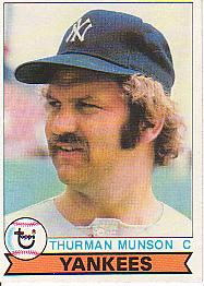 1979 Topps Baseball Cards      310     Thurman Munson