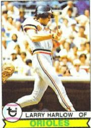 1979 Topps Baseball Cards      314     Larry Harlow