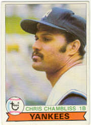 1979 Topps Baseball Cards      335     Chris Chambliss