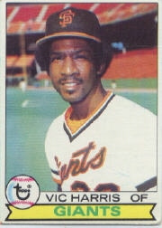 1979 Topps Baseball Cards      338     Vic Harris