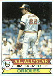 1979 Topps Baseball Cards      340     Jim Palmer