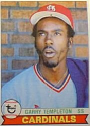 1979 Topps Baseball Cards      350     Garry Templeton