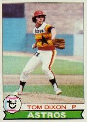 1979 Topps Baseball Cards      361     Tom Dixon RC