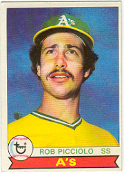 1979 Topps Baseball Cards      378     Rob Picciolo DP