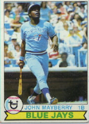 1979 Topps Baseball Cards      380     John Mayberry