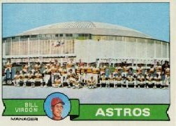 1979 Topps Baseball Cards      381     Houston Astros CL/Bill Virdon