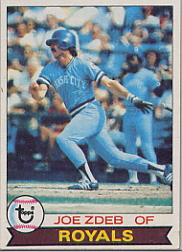 1979 Topps Baseball Cards      389     Joe Zdeb