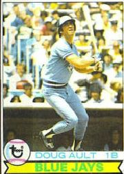 1979 Topps Baseball Cards      392     Doug Ault