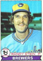 1979 Topps Baseball Cards      394     Randy Stein RC