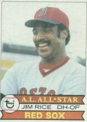 1979 Topps Baseball Cards      400     Jim Rice