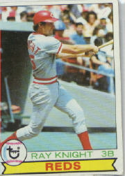 1979 Topps Baseball Cards      401     Ray Knight