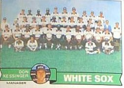 1979 Topps Baseball Cards      404     Chicago White Sox CL/Don Kessinger