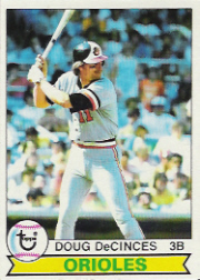 1979 Topps Baseball Cards      421     Doug DeCinces
