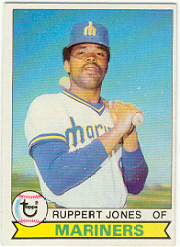 1979 Topps Baseball Cards      422     Ruppert Jones