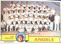 1979 Topps Baseball Cards      424     California Angels CL/Jim Fregosi