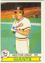 1979 Topps Baseball Cards      436     Hector Cruz