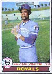 1979 Topps Baseball Cards      439     Frank White
