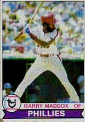 1979 Topps Baseball Cards      470     Garry Maddox DP