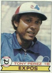 1979 Topps Baseball Cards      495     Tony Perez